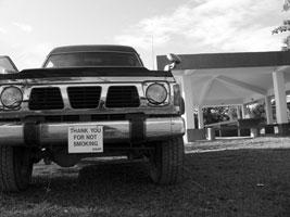 Vehicle Black and White