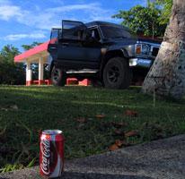 Vehicle & Coke